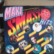 Discos de vinilo: MAXI SMASH HITS - VERSIONES MAXI - CBS HOLLAND. Lote 269449998