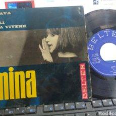 Discos de vinilo: MINA EP BRAVA + 3 ESPAÑA 1965. Lote 269450578