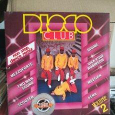 Discos de vinilo: DISCO CLUB VOL 2 - BREAK RECORDS. Lote 269450898