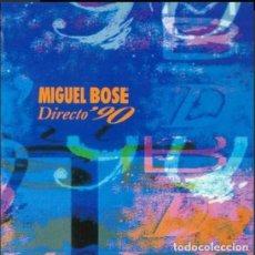Discos de vinilo: MIGUEL BOSÉ – DIRECTO '90. Lote 269450978
