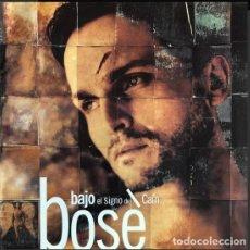 Discos de vinilo: BOSÉ – BAJO EL SIGNO DE CAÍN. Lote 269452233