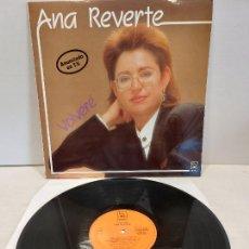Discos de vinilo: ANA REVERTE / VOLVERÉ / LP - HORUS-1988 / MBC. ***/***. Lote 269452343