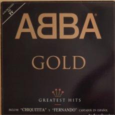 Discos de vinilo: VINILO ABBA GOLD 1992. Lote 269452823