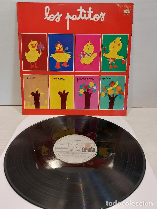 LOS PATITOS / LP - ARIOLA-1974 / MBC. ***/*** SIN LIBRETO (Música - Discos - LPs Vinilo - Música Infantil)
