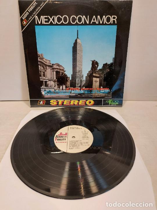 JO BASILE, ACORDEÓN Y ORQUESTA / MEXICO CON AMOR / LP-EKIPO-1970 / MBC. ***/*** (Música - Discos - LP Vinilo - Orquestas)