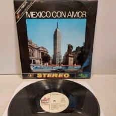 Discos de vinilo: JO BASILE, ACORDEÓN Y ORQUESTA / MEXICO CON AMOR / LP-EKIPO-1970 / MBC. ***/***. Lote 269455668