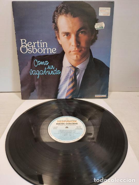 BERTÍN OSBORNE / COMO UN VAGABUNDO / LP - HISPAVOX-1982 / MBC. ***/*** (Música - Discos - LP Vinilo - Solistas Españoles de los 70 a la actualidad)