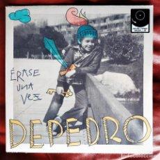 Discos de vinilo: DEPEDRO - ÉRASE UNA VEZ LP + CD. Lote 269456513
