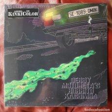 Discos de vinilo: DERBY MOTORETA'S BURRITO CACHIMBA - PRIMER LP. Lote 269457048