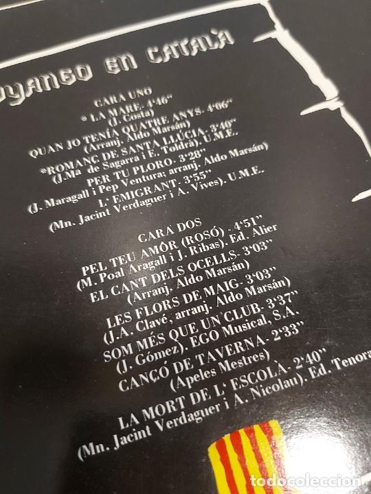Discos de vinilo: DYANGO EN CATALÀ / LA MARE / LP - EMI-ODEON-1982 / MBC. ***/*** - Foto 3 - 269459753
