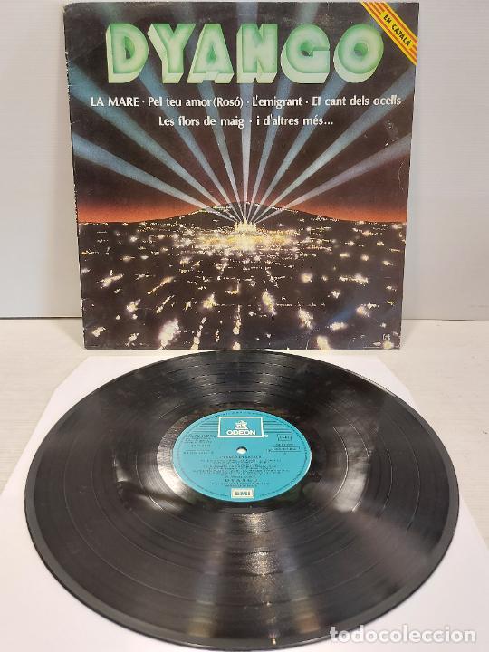 DYANGO EN CATALÀ / LA MARE / LP - EMI-ODEON-1982 / MBC. ***/*** (Música - Discos - LP Vinilo - Solistas Españoles de los 70 a la actualidad)