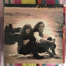 Discos de vinilo: CÓMPLICES - ESTÁ LLORANDO EL SOL - LP RCA 1991. Lote 269463638