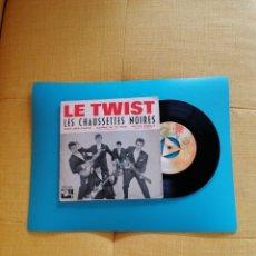 Dischi in vinile: LES CHAUSSETTES NOIRES - LE TWIST + 3. 1961. Lote 269463808
