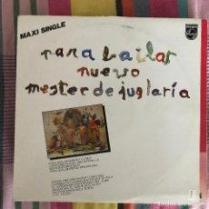 """Discos de vinilo: NUEVO MESTER DE JUGLARÍA - PARA BAILAR - 12"""" MAXISINGLE PHILIPS 1988. Lote 269465538"""
