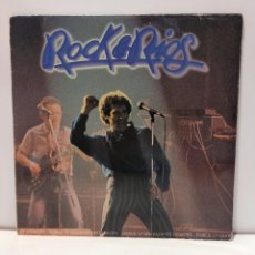 Discos de vinilo: MIGUEL RIOS - ROCK & RIOS. DOBLE LP GRABADO EN DIRECTO. 1982 ENCARTES CON CANCIONES. CCM2. Lote 269470168