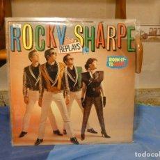 Discos de vinilo: LP ROCKABILLY ROCKY SHARPE AND THE REPLAYS ROCK IT TO MARS BUEN ESTADO. Lote 269479833
