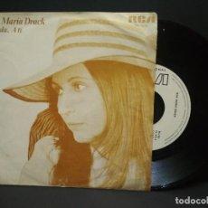 Disques de vinyle: ANA MARIA DRACK SINGLE RCA 1977 AMADA / A TI PROMOCIONAL PEPETO. Lote 269483843