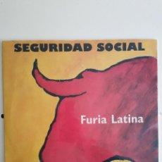 Discos de vinilo: LP ORIGINAL SEGURIDAD SOCIAL FURIA LATINA 1993. Lote 269484133