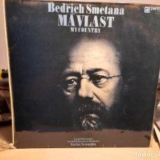 Discos de vinilo: DOBLE LP BEDRICH SMETANA : MAVLAST ( MY COUNTRY ) EDICION CHECOSLOVAQUIA. Lote 269491168
