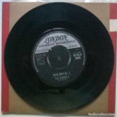 Discos de vinilo: THE RONDELS. BACK BEAT NO 1/ SHADES OF GREEN. LONDON, UK 1961 SINGLE. Lote 269491403