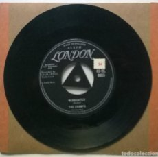 Discos de vinilo: THE CHAMPS. MIDNIGHTER/ EL RANCHO ROCK. LONDON, UK 1958 SINGLE. Lote 269491873