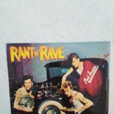 Discos de vinilo: STRAY WITH THE CATS RANT N' RAVE LP VINILO. Lote 269491963