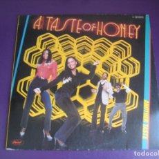 Discos de vinilo: A TASTE OF HONEY – ANOTHER TASTE - LP CAPITOL ALEMANIA 1979 - DISCO FUNK 70'S - SIN APENAS USO. Lote 269492198