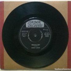 Discos de vinilo: BOBBY DARIN. WHAT'D I SAY/ AIN'T THAT LOVE. LONDON, UK 1962 SINGLE. Lote 269492238