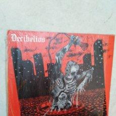 Discos de vinilo: DECIBELIOS -CALDO DE POLLO LP VINILO. Lote 269493228