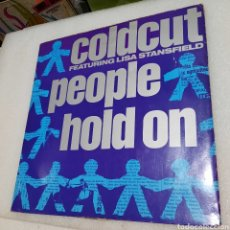 Discos de vinil: COLDCUT FEATURING LISA STANDFIELD - PEOPLE HOLD ON. Lote 269493258