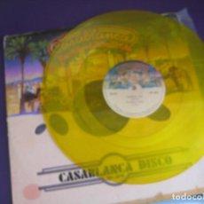 Discos de vinilo: KISS – NACI PARA AMARTE - I WAS BORN FOR LOVIN YOU +1 - MAXI SINGLE CASABLANCA MEXICO - HARD ROCK. Lote 269493378