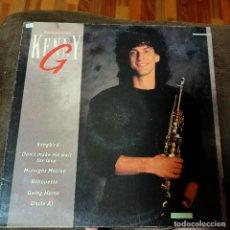 Discos de vinilo: LP KENNY G THE COLLECTION 1990. Lote 269493788