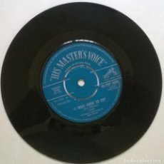Discos de vinilo: DION. LOVERS WHO WANDER/ (I WAS) BORN TO CRY, HIS MASTER'S VOICE, UK 1962 SINGLE. Lote 269495543