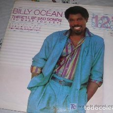 Discos de vinilo: BILLY OCEAN THERE'LL BE SAD SONGS LP. Lote 269496423