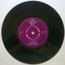Discos de vinilo: DEAN STERLING & THE TEEN-BEATS. SEND ME A GIRL/ LOST LOVE. PYE, UK 1961 SINGLE. Lote 269497328