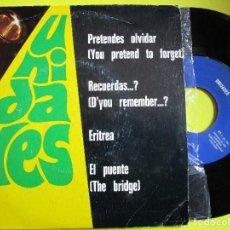 Discos de vinilo: UNIDADES PRETENDES OLVIDAR DISCO EP DE 4 CANCIONE AÑO 1.975. Lote 269577468