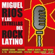 Discos de vinilo: MIGUEL RÍOS Y LAS ESTRELLAS DEL ROCK LATINO (CD + LP-VINILO) ENVIO CERTIFICADO ESPAÑA 2 €. Lote 269578953