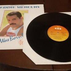 Discos de vinilo: FREDDIE MERCURY - MAXI SINGLE - I WAS BORN TO LOVE YOU - MR. BAD GUY - EDICION ESPAÑA - QUEEN. Lote 269579383