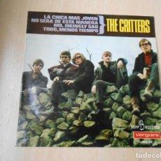 Discos de vinilo: CRITTERS, THE, EP, YOUNGER GIRL (LA CHICA MÁS JOVEN) + 3, AÑO 1966. Lote 269589323