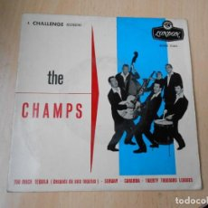 Dischi in vinile: CHAMPS, THE, EP, TOO MUCH TEQUILA (DESPUES DE SEIS TEQUILAS) + 3, AÑO 1960. Lote 269593993