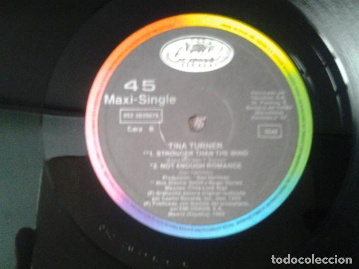 Discos de vinilo: TINA TURNER -STEAMY WINDOWS- MAXI-SINGLE 45RPM CAPITOL 1989 ED. ESPAÑOLA 052-2035676 BUENAS CONDICIO - Foto 2 - 269626558