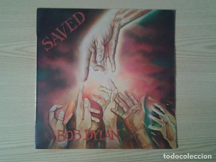 BOB DYLAN - SAVED- LP CBS 1980 ED. ESPAÑOLA S 86113 MUY BUENAS CONDICIONES. (Música - Discos de Vinilo - Maxi Singles - Pop - Rock Internacional de los 90 a la actualidad)