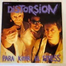 Disques de vinyle: DISTORSION-PARA KITAR EL STRESS-DISCOS SUICIDAS 1991-EXCELENTE ESTADO. Lote 269628713