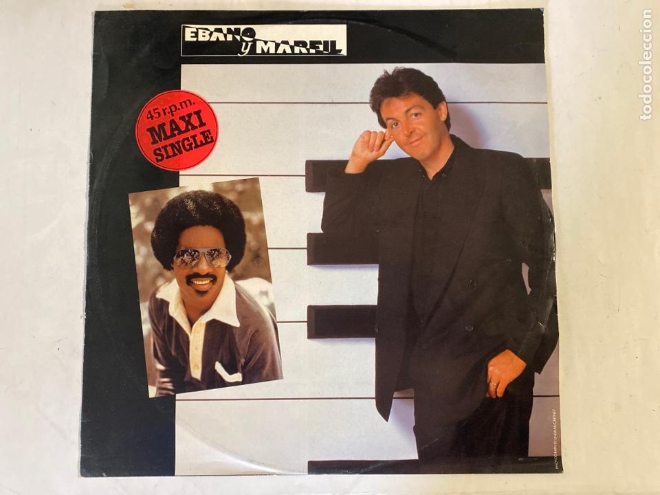 PAUL MC CARTNEY STEVIE WONDER-EBANO Y MARFIL-1982-MAXISINGLE (Música - Discos de Vinilo - Maxi Singles - Pop - Rock - New Wave Internacional de los 80)