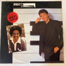 Discos de vinilo: PAUL MC CARTNEY STEVIE WONDER-EBANO Y MARFIL-1982-MAXISINGLE. Lote 269631573