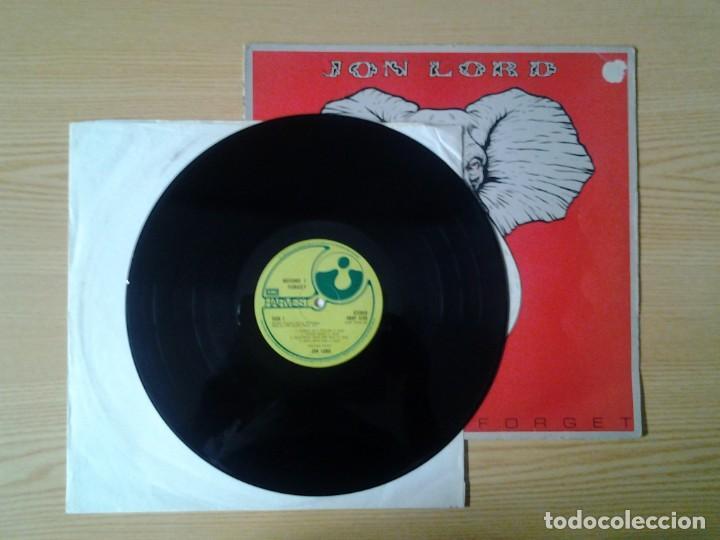 Discos de vinilo: JON LORD -BEFORE I FORGET - HARVEST 1982 ED. ORIGINAL INGLESA SHSP 4123 BUENAS CONDICIONES. - Foto 3 - 269632818