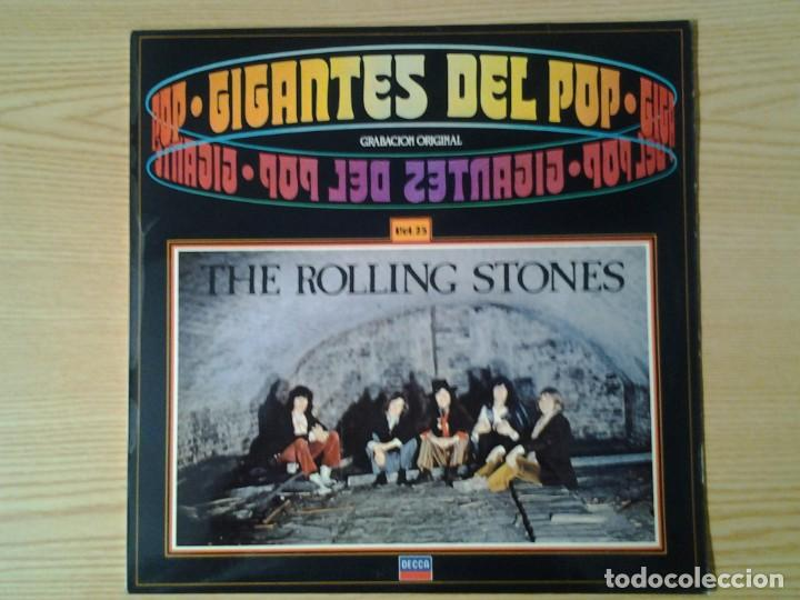 THE ROLLING STONES -IGANTES D3L POP VOL. 25- DECCA 1981 64 95 084 MUY BUENAS CONDICIONES. (Música - Discos de Vinilo - Maxi Singles - Pop - Rock Internacional de los 90 a la actualidad)