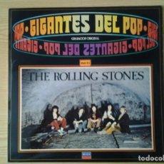 Discos de vinilo: THE ROLLING STONES -IGANTES D3L POP VOL. 25- DECCA 1981 64 95 084 MUY BUENAS CONDICIONES.. Lote 269633853