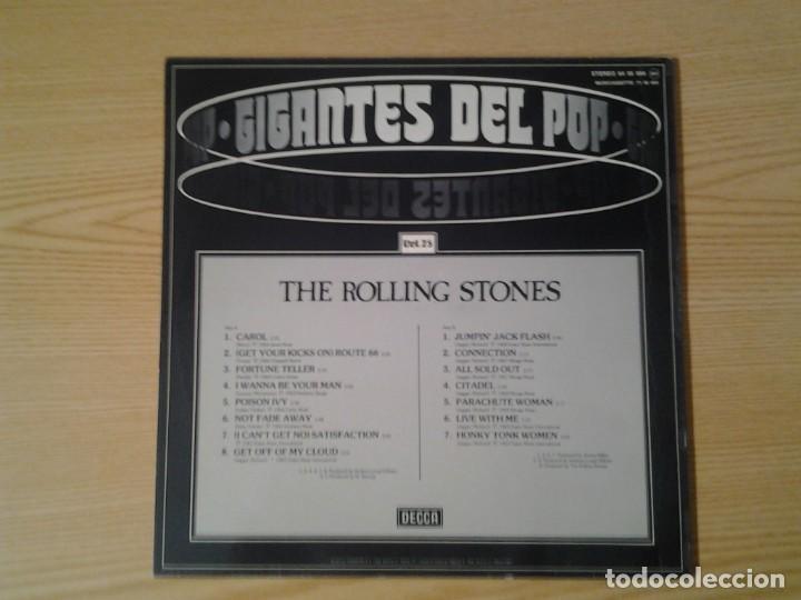 Discos de vinilo: THE ROLLING STONES -IGANTES D3L POP VOL. 25- DECCA 1981 64 95 084 MUY BUENAS CONDICIONES. - Foto 4 - 269633853