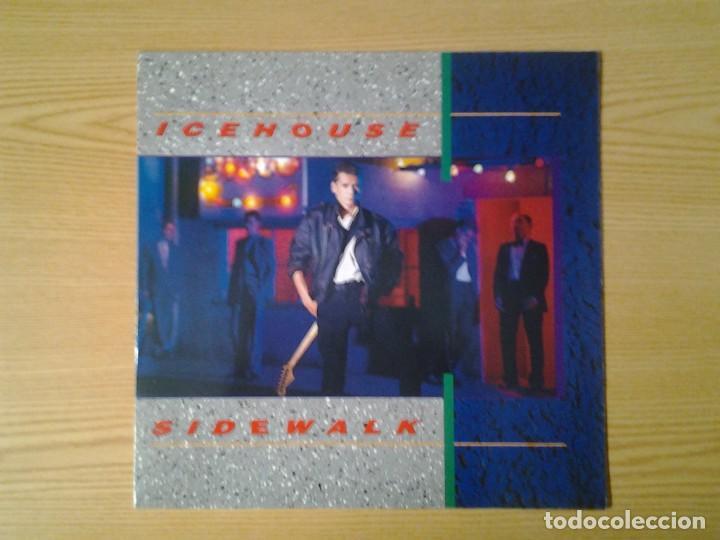ICEHOUSE -SIDEWALK- LP CHRYSALIS 1984 ED. INGLESA 206 334 MUY BUENAS CONDICIONES. (Música - Discos de Vinilo - Maxi Singles - Pop - Rock Internacional de los 90 a la actualidad)